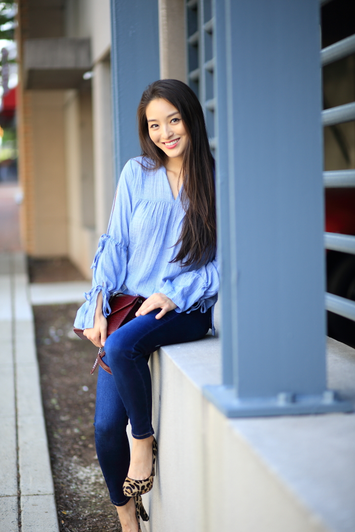 marled blouses