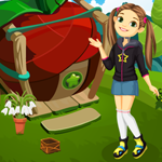 G4K Cute Girl Escape From Fantasy House Game