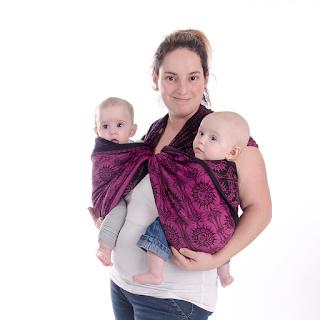 sling para gêmeos