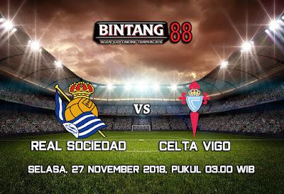 Prediksi Real Sociedad Vs Celta De Vigo 27 November 2018