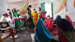 उरई : नदीगांव ब्लॉक के जरा में ग्राम स्वास्थ्य एवं पोषण दिवस का आयोजन Orai : Organized Village Health and Nutrition Day in Jara of Nadigaon Block Hindi News