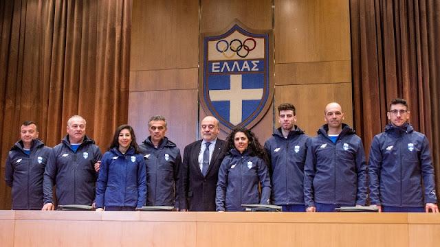 Η ελληνική Ολυμπιακή ομάδα αναχώρησε  για τους Χειμερινούς Ολυμπιακούς Αγώνες