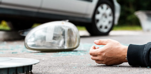 Damages and interest for road accident Marignane