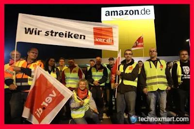 In Germany, Amazon Employees Are Going On Strike Because Of Coronavirus Illness