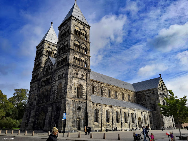 Lund Cathedral at Lund Central in Sweden Image by Atul Gaur