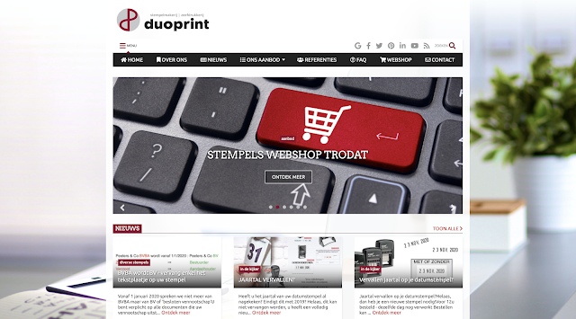 Duoprint, Smart-Site, UP-TO-DATE Webdesign