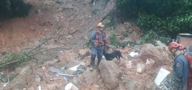 Sobe para 40 o número de mortos na Baixada Santista