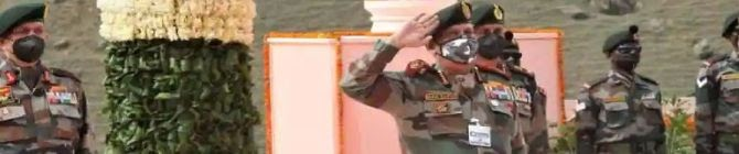 Kargil Vijay Diwas: Indian Army Pays Tributes To Its Soldiers At Drass War Memorial