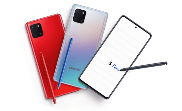 Samsung Galaxy Note 10 Lite with S-Pen