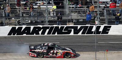 #NASCAR Virginia Lottery Pole Day at the 'Paperclip' Martinsville