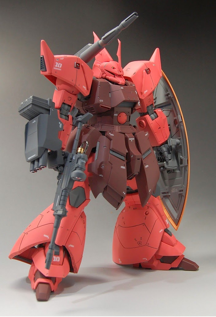 Mg 1 100 Gelgoog Cannon Custom Build Gundam Kits