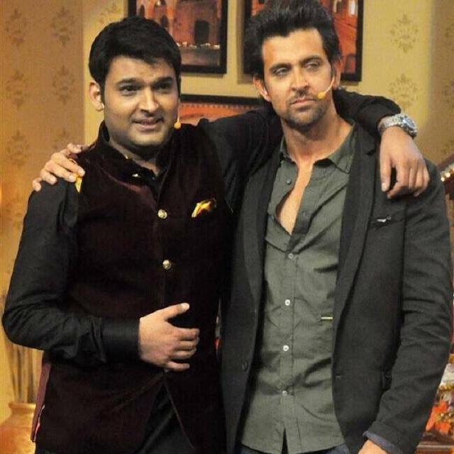 Kapil Sharma With Hrithik Roshan