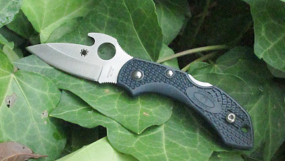 Spyderco dragonfly with Emerson Wave