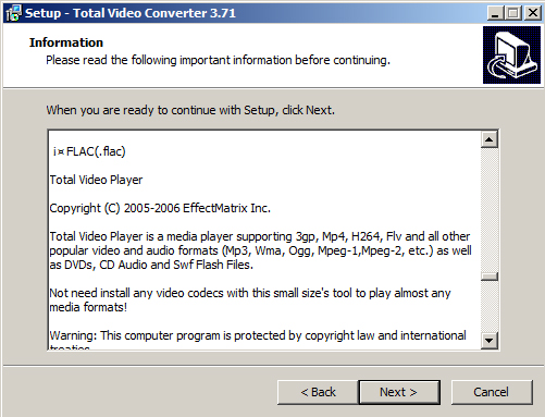 Hướng dẫn cài đặt Total Video Converter 3.71 Full Key + Active trên máy tính, laptop windows 7 c