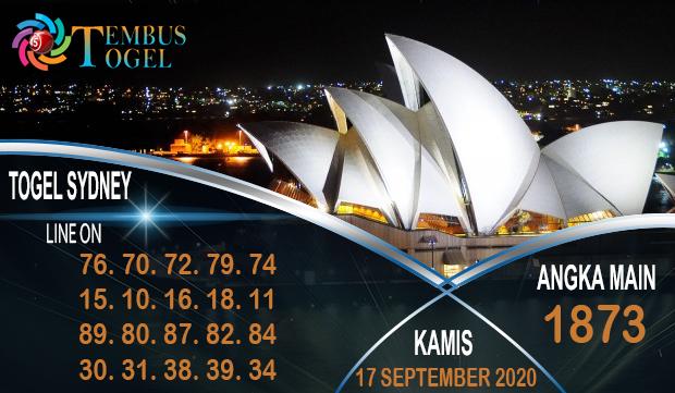 Bocoran Tembus Togel Sidney Hari Kamis 17 September 2020