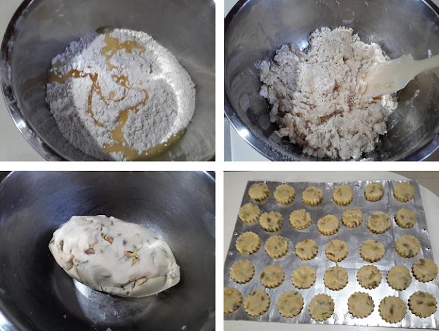 2021年饼之开心果酥饼  Pistachio nuts Cookies