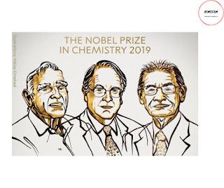 chemistry noble prize 2019