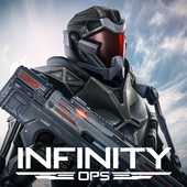 Download Infinity Ops: Online FPS Cyberpunk Shooter For iPhone and Android XAPK