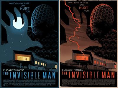 The Invisible Man Movie Poster Screen Print by Francesco Francavilla x Mondo