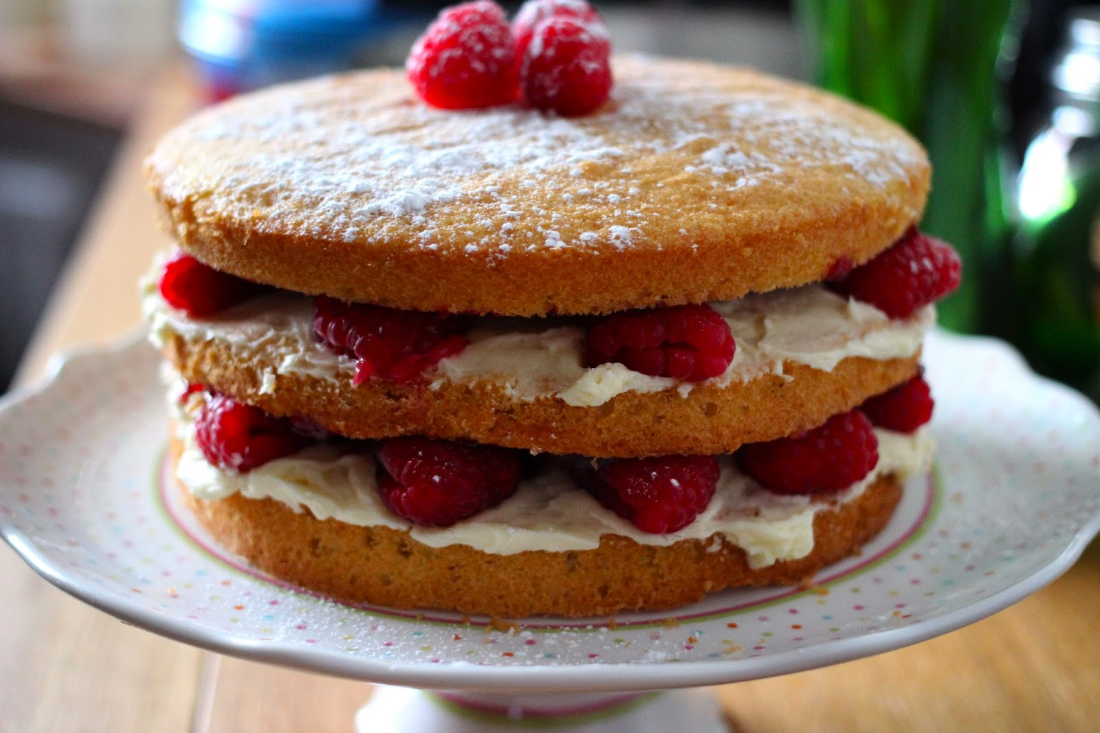 Great British Bake Off Victoria Sponge cake recipe
