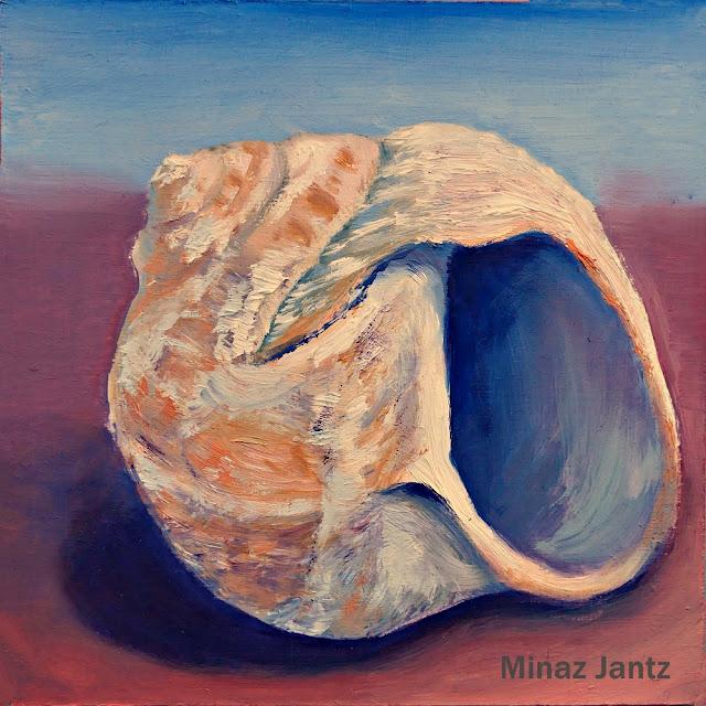 Mollusk Shell by Minaz Jantz (Oil)