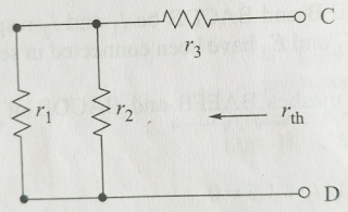 Thevenin's Equivalent Voltage