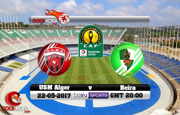 مشاهدة مباراة إتحاد الجزائر وفيروفياريو دا بيرا اليوم 23-9-2017 دوري أبطال أفريقيا