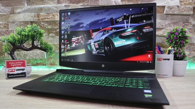 HP Pavilion 17.3-inch gaming laptop. It is the heavy gaming machine with poor battery life and larger display. It has Intel Core i5 CPU with NVIDIA's GeForce GTX 1050 3GB GDDR5 GPU and 8GB of DDR4 RAM.