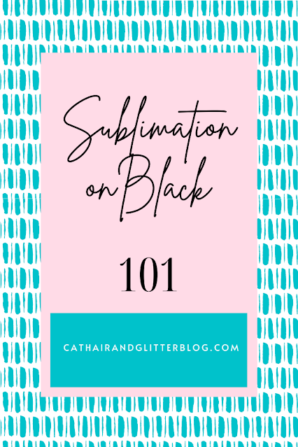 How to sublimate on black