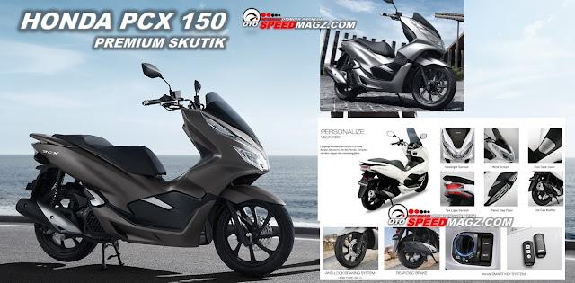 Fitur Honda PCX 150 cc
