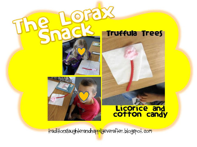 Dr. Seuss ideas, Lorax snack