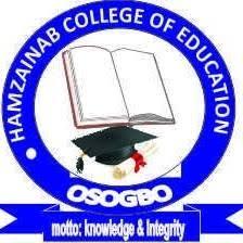 HAMZAINAB COE Post-UTME Form 2020/2021   NCE Full-Time