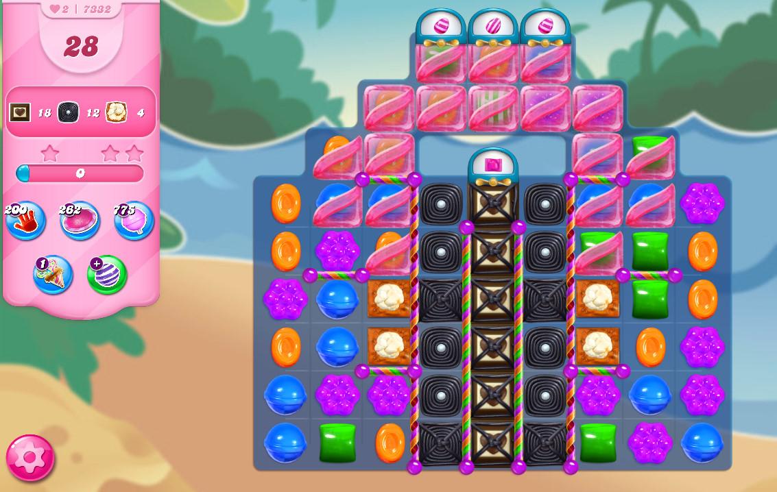 Candy Crush Saga level 7332