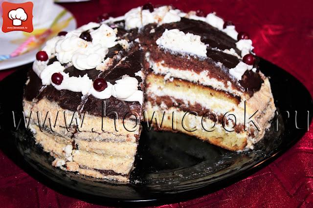 рецепт торта птичье молоко с фото