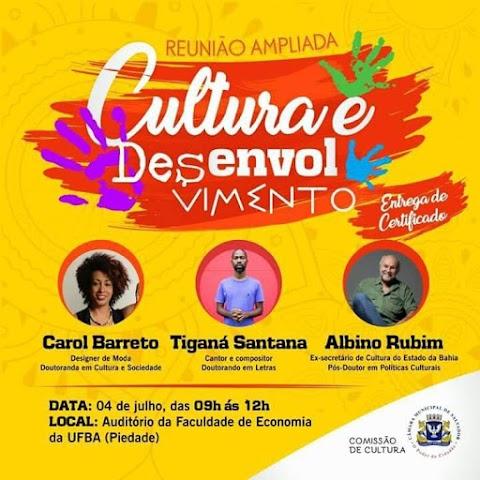 """#DesdeEmTrânsito: Reunião Ampliada """"Cultura e Desenvolvimento"""""""
