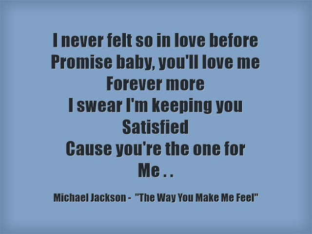 Michael Jackson song quote 6