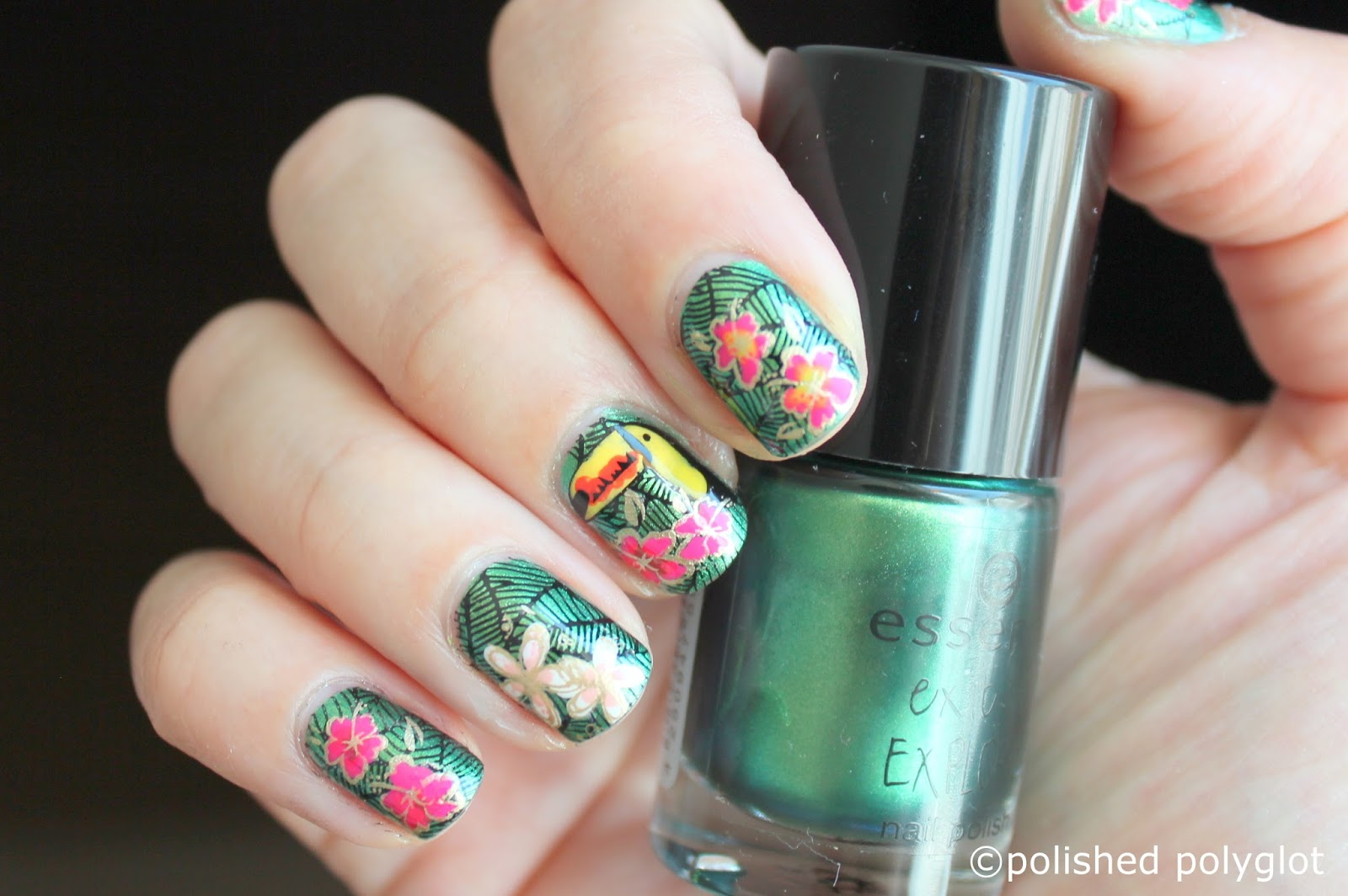 Nail art │Designs for short nails: Inspired by… makeup packaging ...