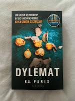 """""""Dylemat"""" B.A. Paris, fot. paratexterka ©"""