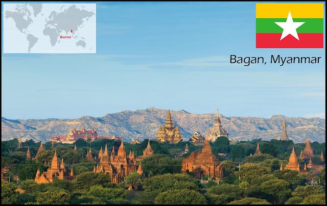 Bagan, Myanmar (formerly Burma)