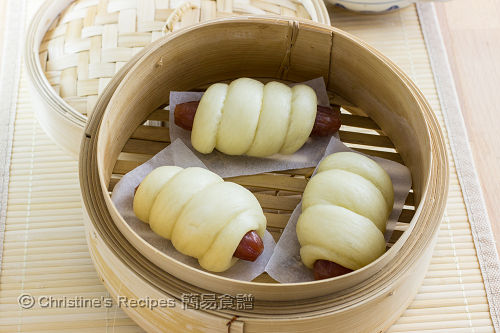 臘腸卷 Steamed Chinese Sausage Rolls02