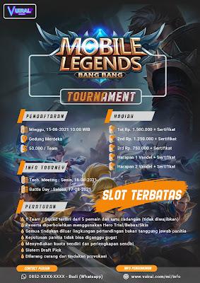 Download Mentahan Contoh Poster Turnamen Mobile Legends (ML) Versi 4