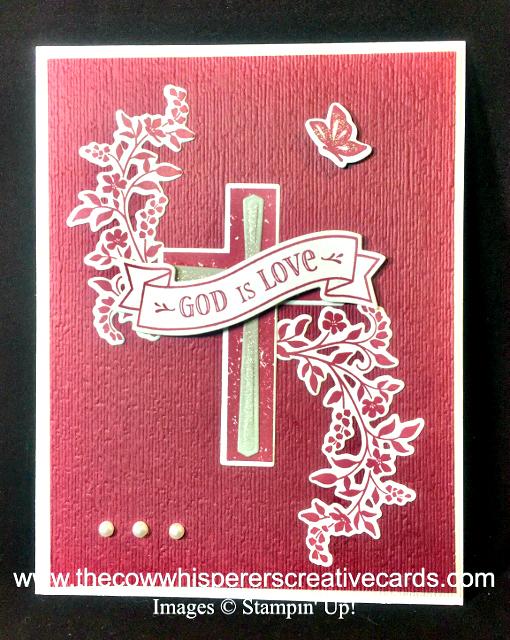 Card, Hold On To Hope, Cross of Hope Framelits, Subtle Embossing Folder