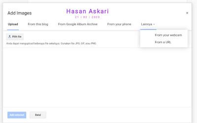 Hasan Askari: Tutorial Blogger Lengkap Menggunakan HP - #5 Mengenal fitur pada menu Postingan gambar 8
