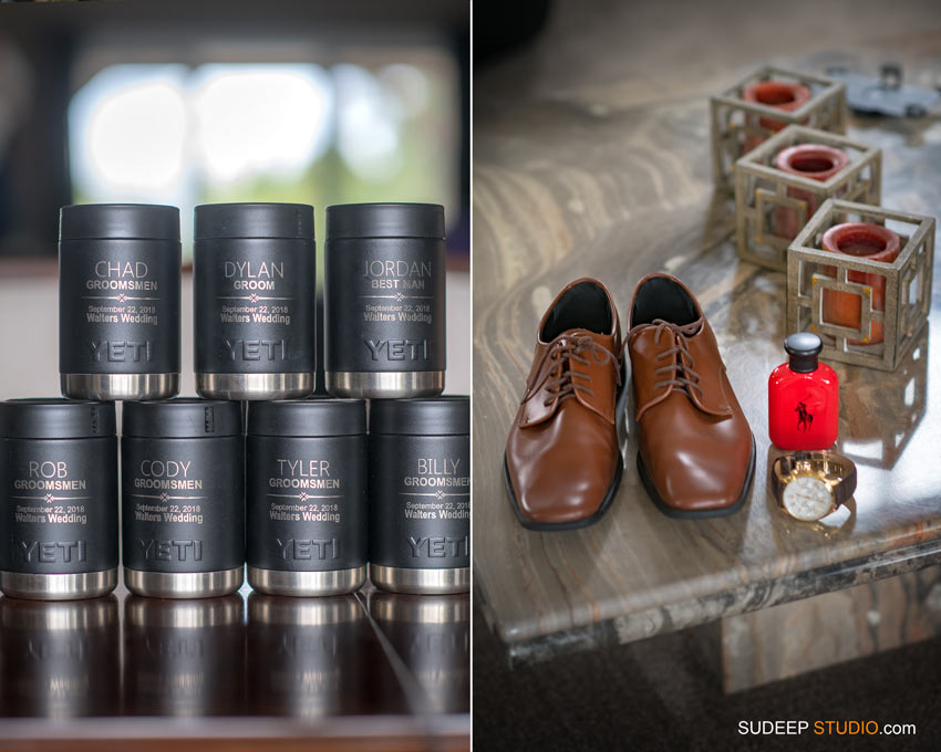 Grooms Men Gift ideas by SudeepStudio.com Ann Arbor Wedding Photographer