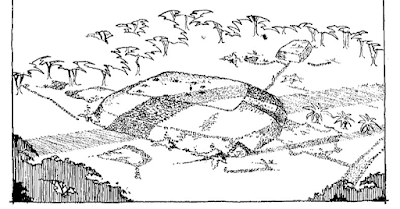 artists rendering of samoan pyramid in 1969