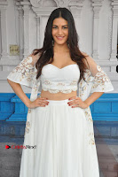 Telugu Actress Amyra Dastur Stills in White Skirt and Blouse at Anandi Indira Production LLP Production no 1 Opening  0086.JPG