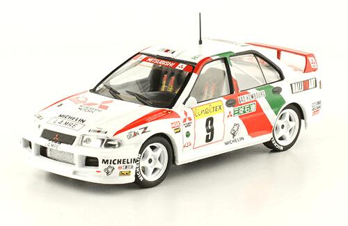 collezione rally monte carlo Mitsubishi Lancer Evo I 1994 Kenneth Eriksson - Staffan Parmander
