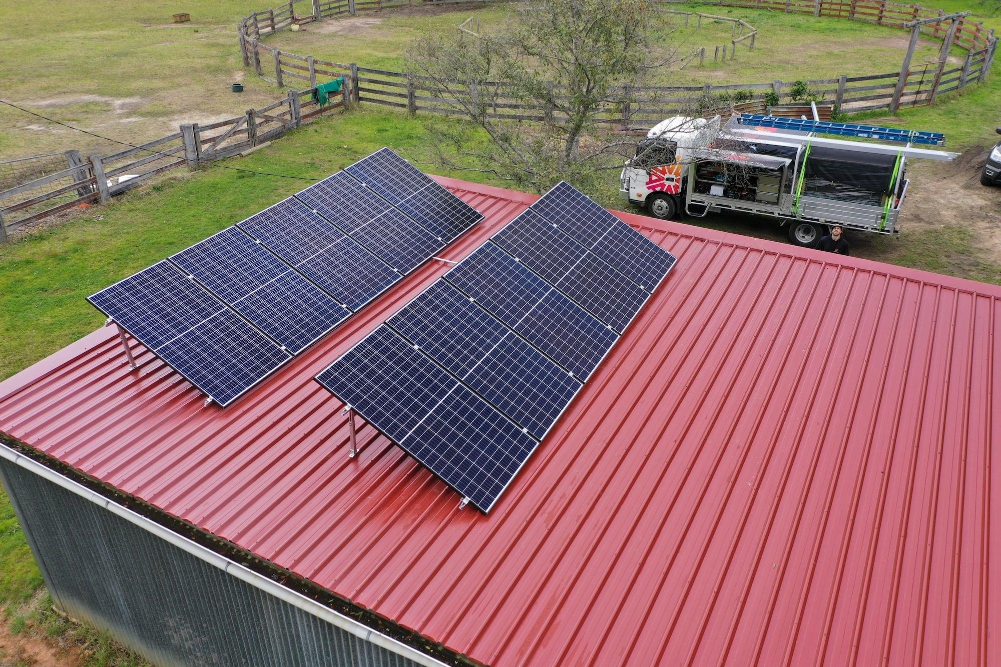 solar panel installers Newcastle