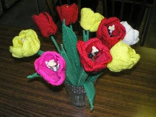 Вязанные цветы и картины. Татьяна Погребец