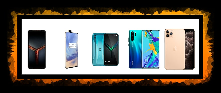 Top 5 Best gaming phones to play PUBG mobile in 2020